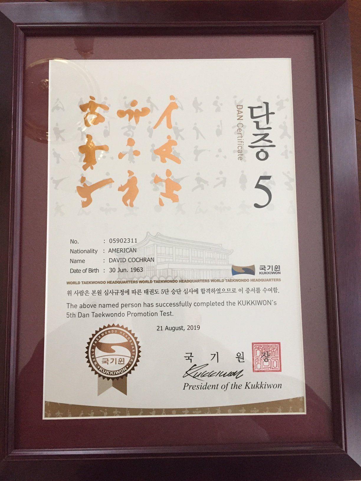 5th Dan Certificate.JPG